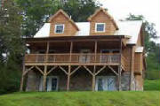 Boone Blowing Rock NC log cabin rental