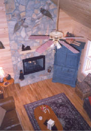 Boone NC log cabin rental by owner